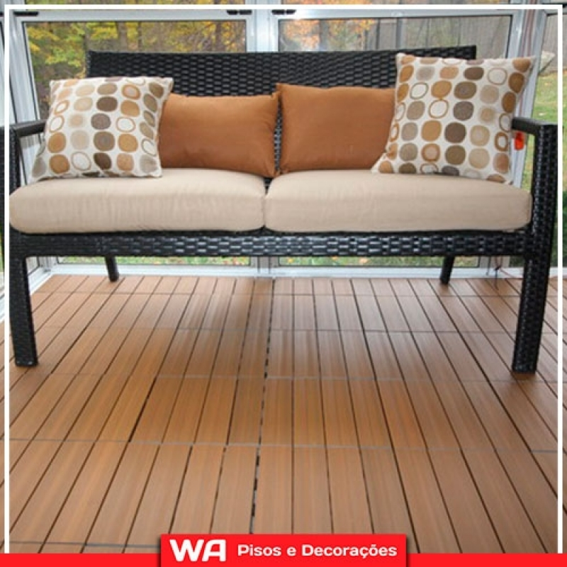 Deck para Sacada Orçamento Vargem Grande Paulista - Deck Madeira Sacada