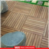 deck madeira sacada apartamento Franco da Rocha
