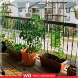 deck para sacada de apartamento Vila Yara