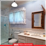 empresa de papel de parede banheiro Santa Maria
