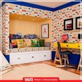 empresa de papel de parede infantil Jardim Platina