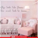 empresa de papel de parede quarto de bebê Jardim das Flores