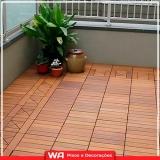 onde compro deck madeira sacada apartamento Embu das Artes