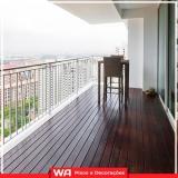 onde compro deck para sacada de apartamento São Bernardo Centro