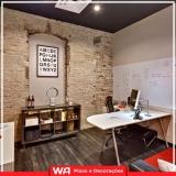 papel de parede escritório km 18
