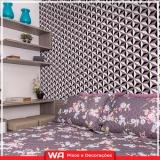 papel de parede quarto instalação Vila Yolanda