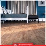 piso laminado em madeira Jandira