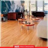 pisos vinílicos de madeira Cotia