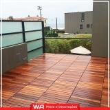 qual valor deck madeira para sacada Jardim Roberto