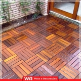 qual valor deck madeira sacada apartamento Pestana