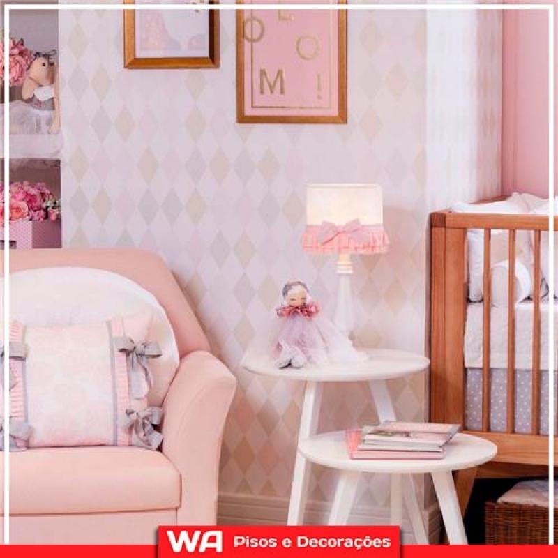 Papel de Parede Infantil Instalação Vila Isabel - Papel de Parede Cozinha