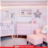 comprar papel de parede quarto de bebê Jaguaribe