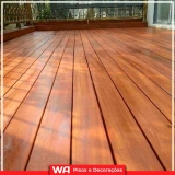 deck madeira para sacada