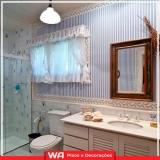 empresa de papel de parede banheiro Guararema