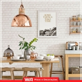 papéis de parede para cozinha Jardim Platina