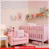 papéis de parede quarto de bebê Santa Maria