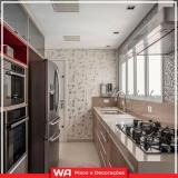 papel de parede na cozinha Bussocaba