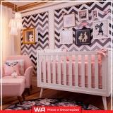 papel de parede quarto de bebê Paiva Ramos