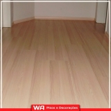 piso de madeira laminado para quarto Itapevi