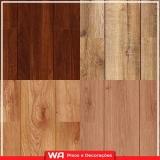 piso em madeira laminado colocado