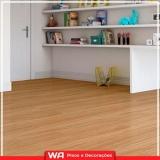 piso laminado de madeira para sala