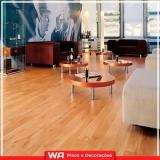 piso laminado durafloor colocado madeira