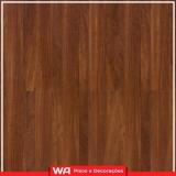 piso laminado de madeira alto tráfego Santo André