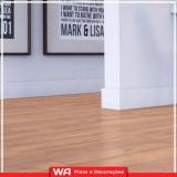 piso laminado de madeira Paiva Ramos