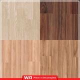 piso laminado durafloor colocado de madeira valor Bela Vista