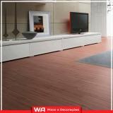 piso laminado durafloor colocado de madeira Francisco Morato