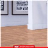 piso laminado de madeira para cozinha