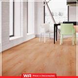 piso laminado vinílico colocado sala de estar orçamento Conceição