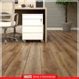 pisos de madeira laminados colocados para quarto Distrito Industrial Mazzei