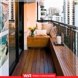 qual valor deck para sacada de apartamento Vila Osasco